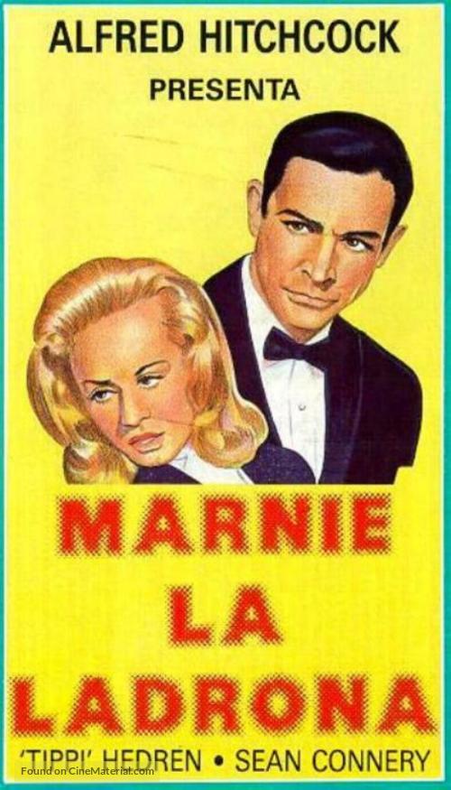Marnie - Spanish VHS movie cover
