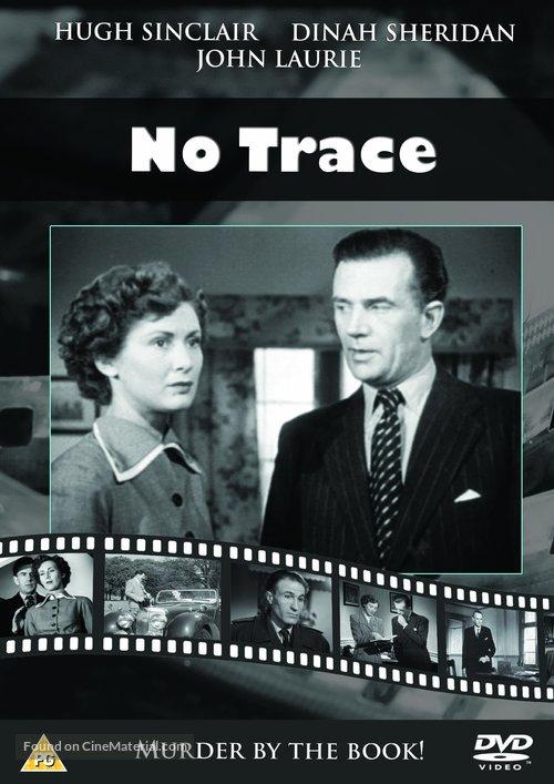 No Trace - British DVD movie cover