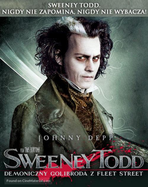 Sweeney Todd: The Demon Barber of Fleet Street - Polish Movie Poster