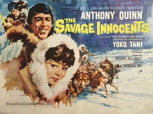 The Savage Innocents - British Movie Poster