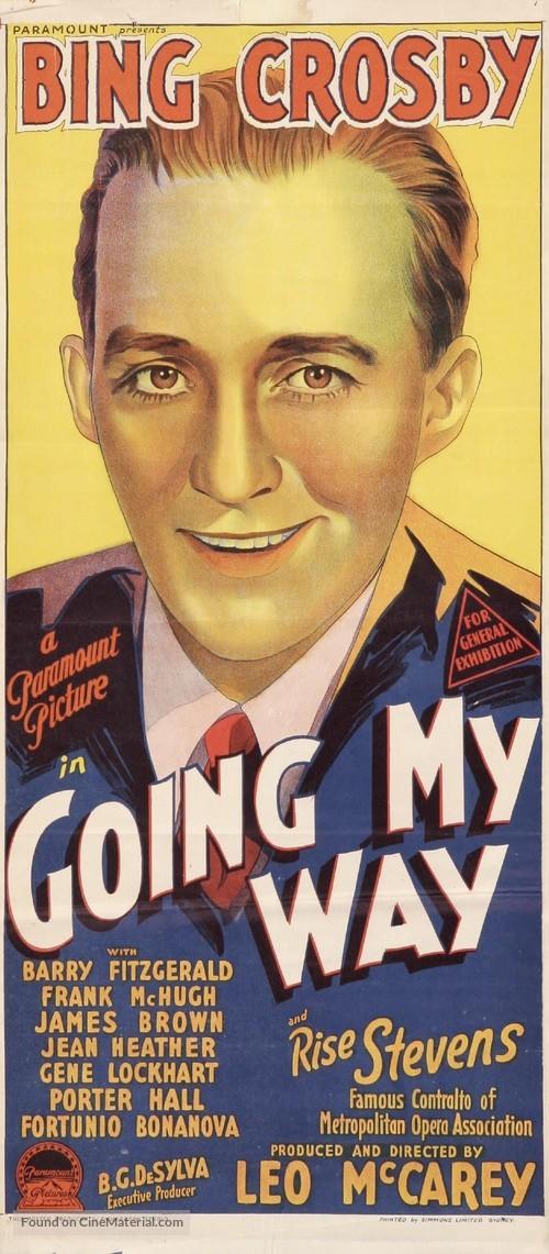 Going My Way - Australian Movie Poster
