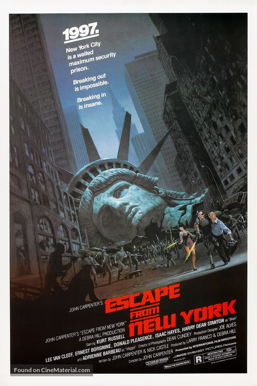 Escape From New York - Theatrical poster