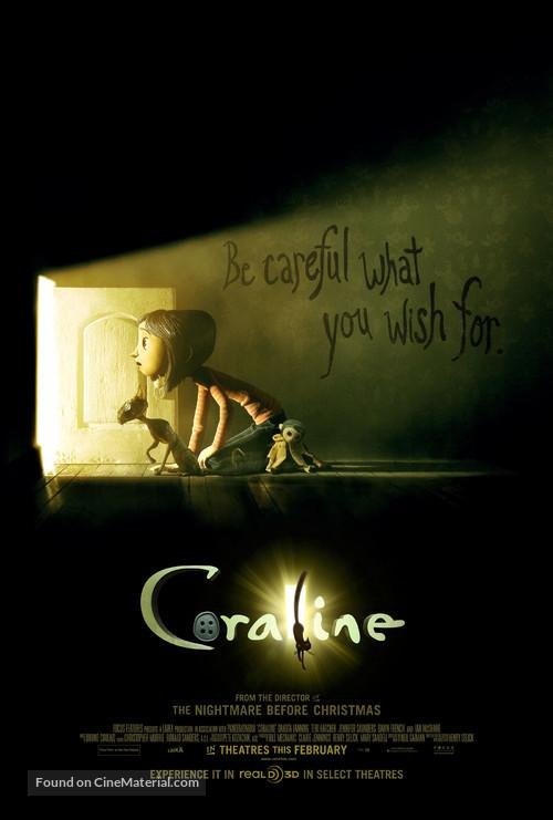 Coraline - Movie Poster