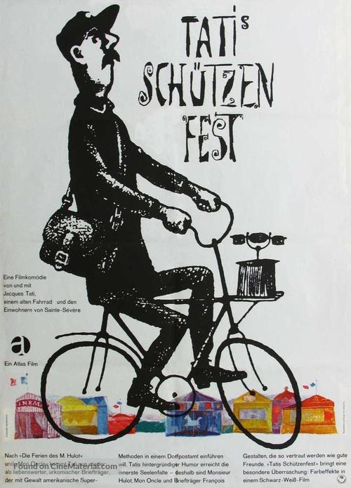 Jour de fête - German Movie Poster