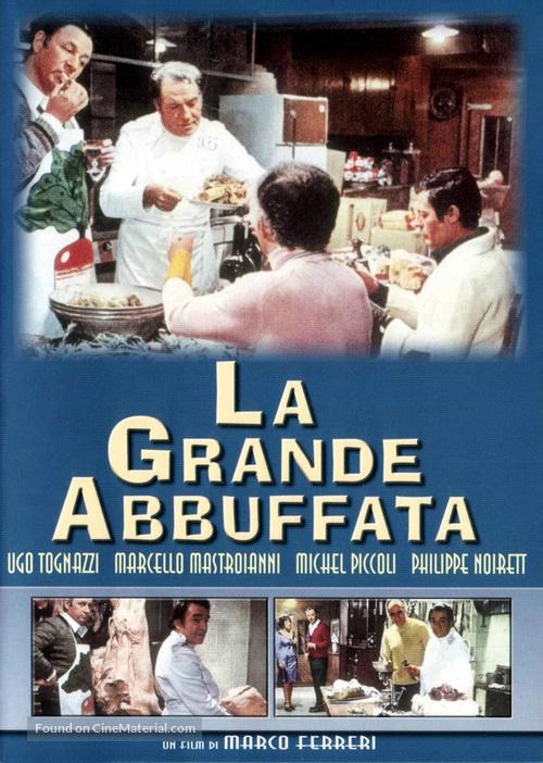La grande bouffe - Italian DVD movie cover
