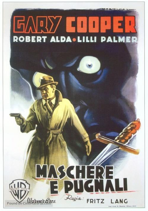 Cloak and Dagger - Italian Movie Poster