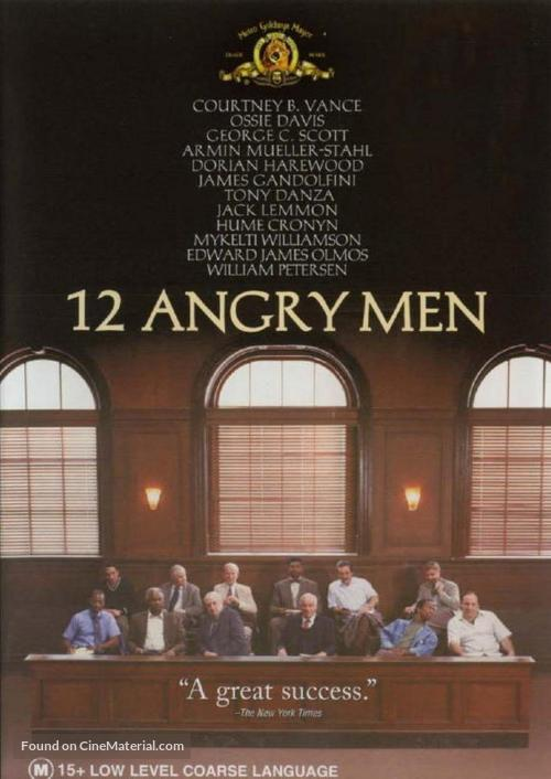12 Angry Men - Australian Movie Cover