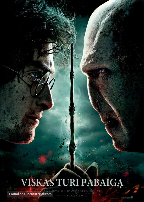 Harry Potter and the Deathly Hallows: Part II - Lithuanian Movie Poster