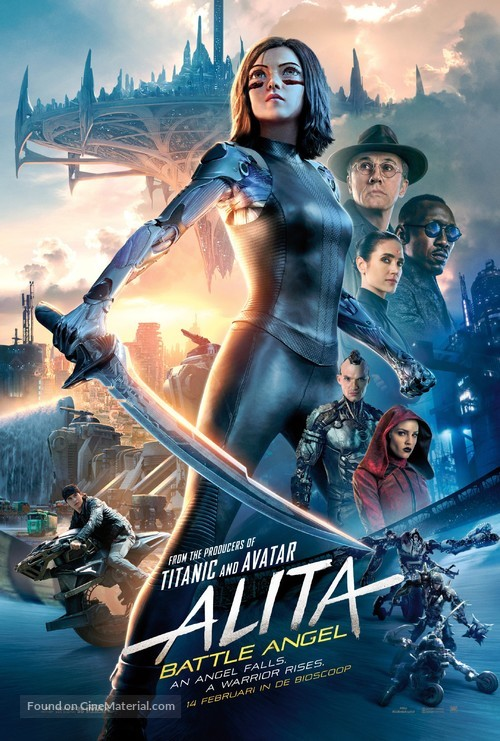 Alita: Battle Angel - Dutch Movie Poster
