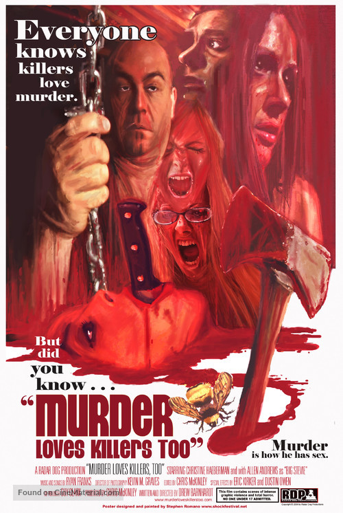 Murder Loves Killers Too - Movie Poster