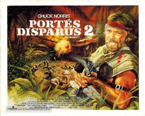 Missing in Action 2: The Beginning - French Movie Poster