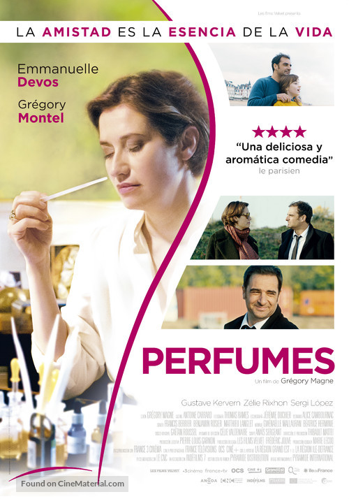 Les parfums - Spanish Movie Poster