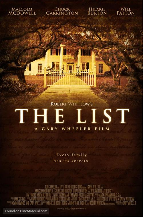 The List - Movie Poster