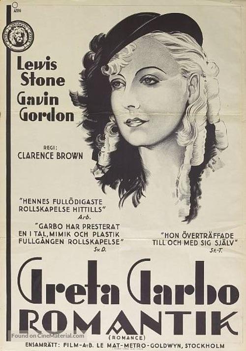 Romance - Swedish Movie Poster