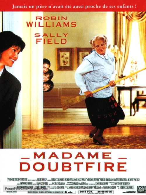 Mrs. Doubtfire - French Movie Poster