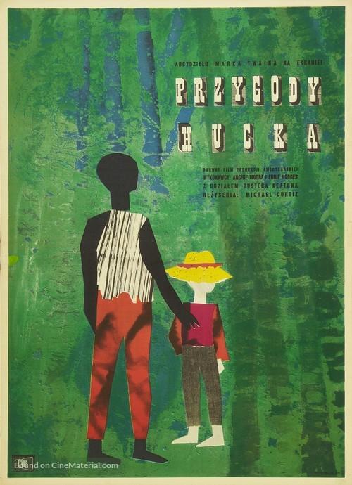 The Adventures of Huckleberry Finn - Polish Movie Poster