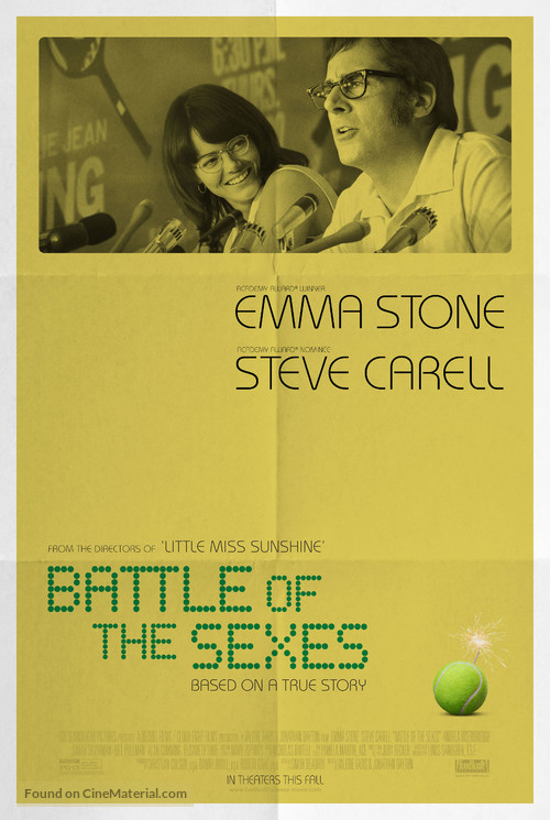 Battle of the Sexes - Movie Poster