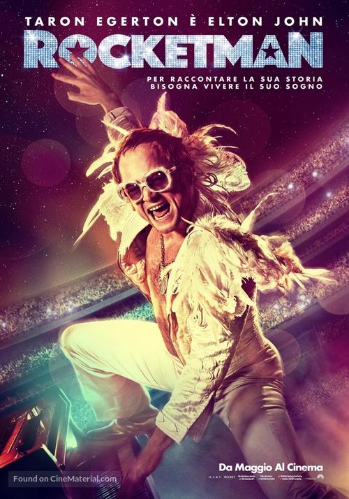 Rocketman - Italian Movie Poster