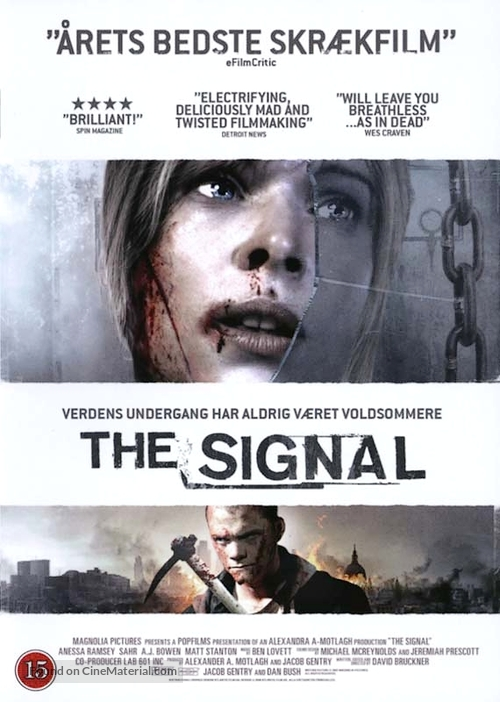 The Signal - Danish Movie Cover
