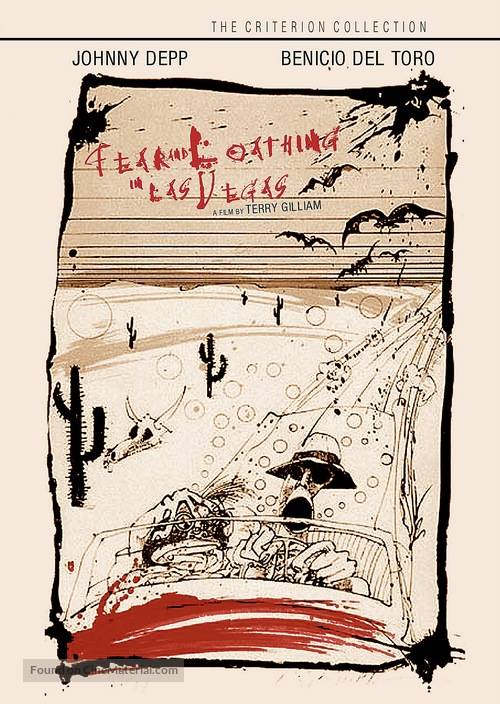Fear And Loathing In Las Vegas - Movie Cover