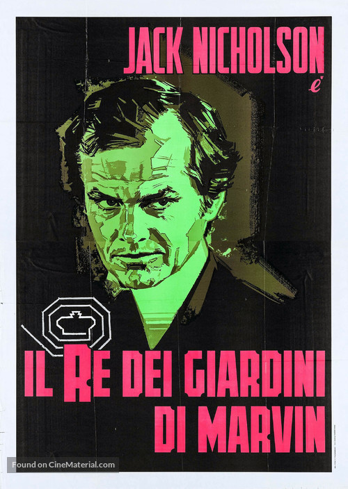 The King of Marvin Gardens - Italian Movie Poster