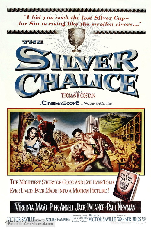 The Silver Chalice - Movie Poster