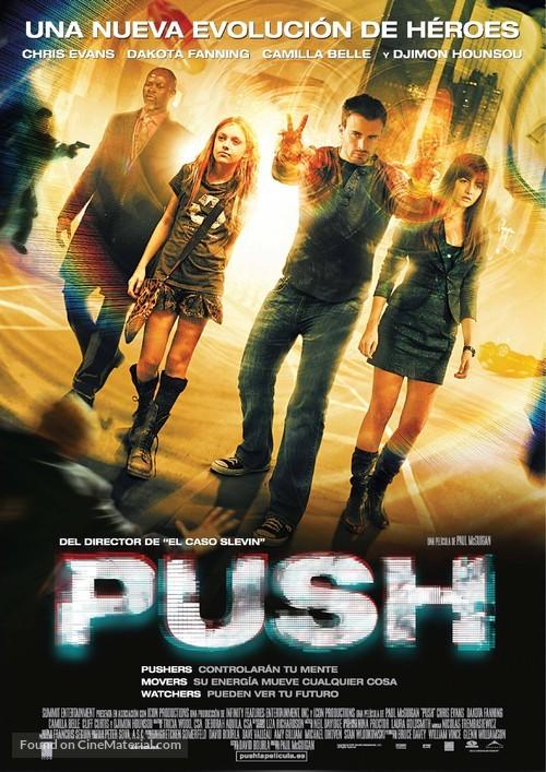 Push - Spanish Movie Poster