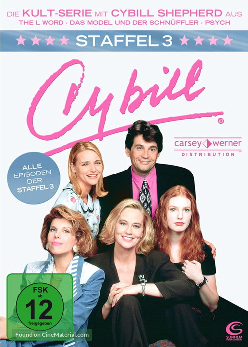 """Cybill"" - German DVD movie cover"