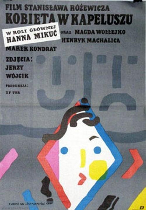 Kobieta w kapeluszu - Polish Movie Poster