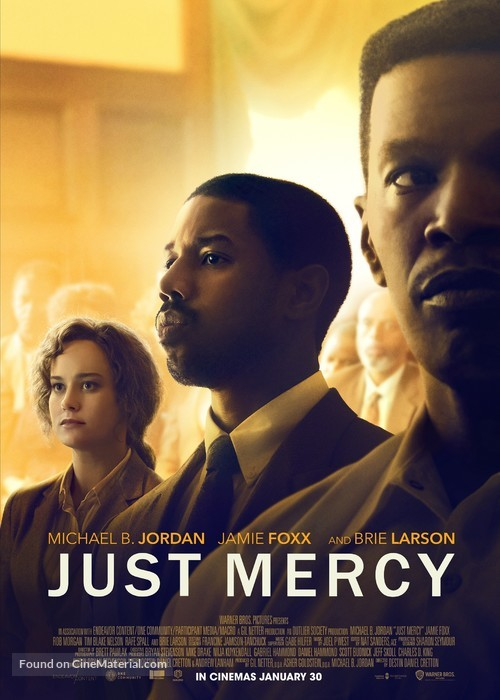 Just Mercy - Lebanese Movie Poster