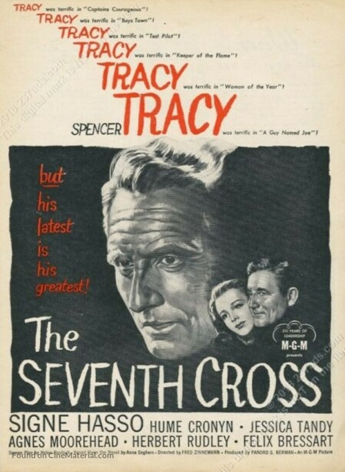 The Seventh Cross - Movie Poster