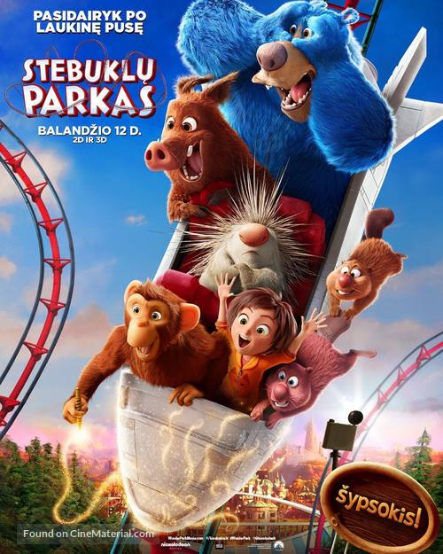 Wonder Park - Lithuanian Movie Poster