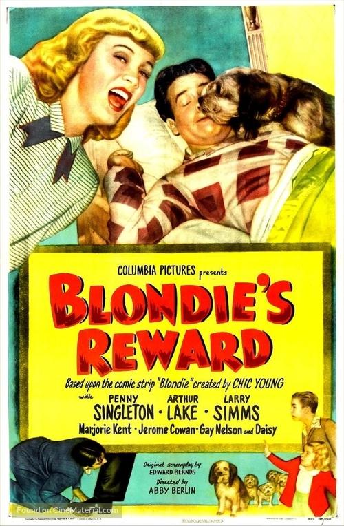 Blondie's Reward - Movie Poster