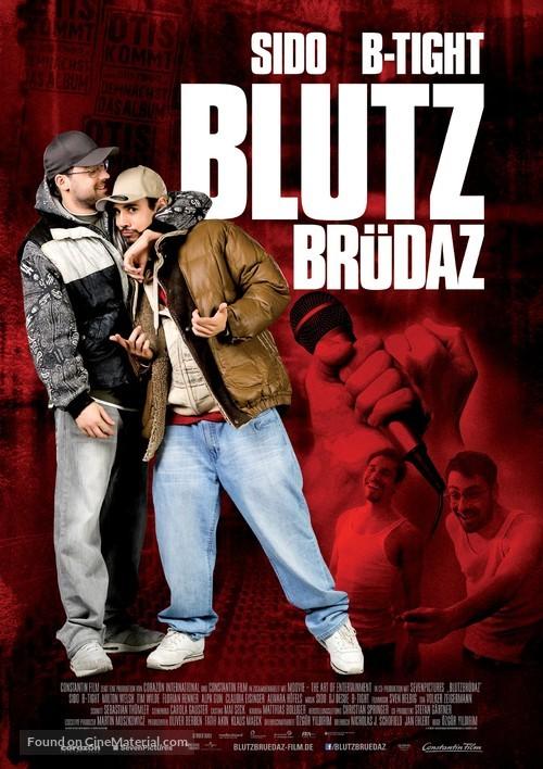 Blutzbrüdaz - German Movie Poster