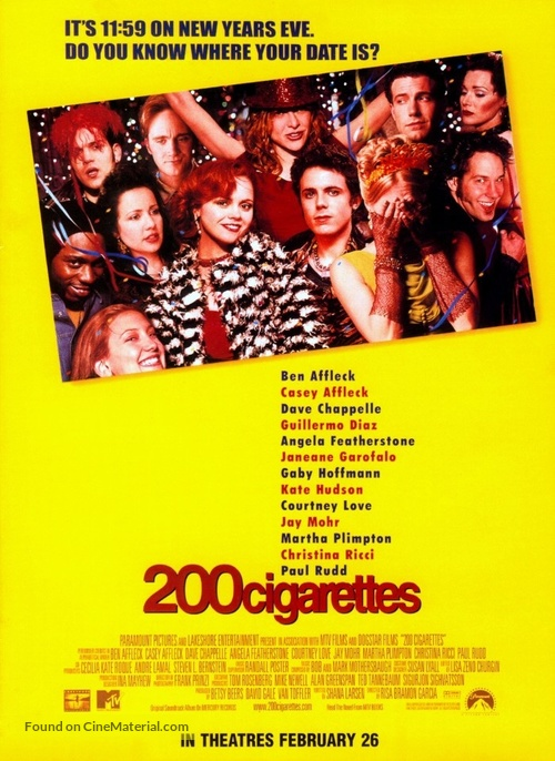 200 Cigarettes - Movie Poster