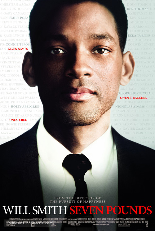 Seven Pounds - Movie Poster