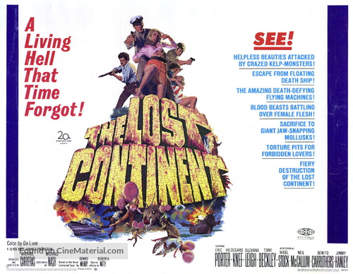 The Lost Continent - Movie Poster