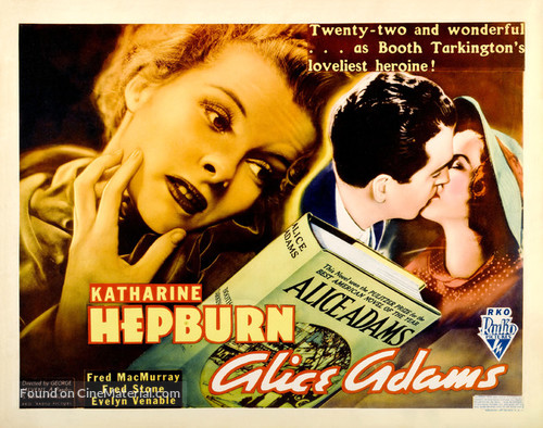 Alice Adams - Theatrical movie poster