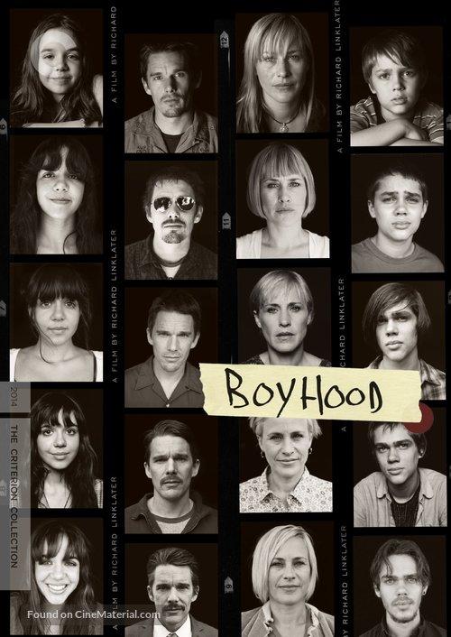 Boyhood - DVD cover