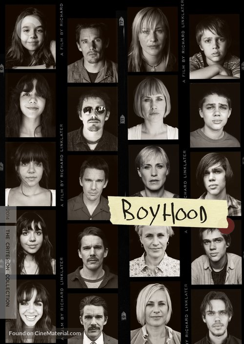 Boyhood - DVD movie cover