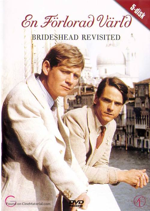 """Brideshead Revisited"" - Finnish DVD movie cover"