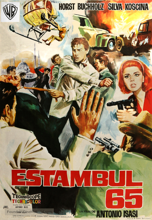 Estambul 65 - Spanish Movie Poster