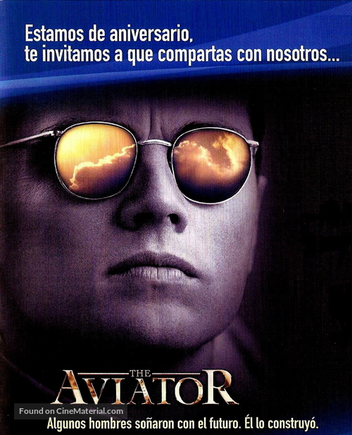 The Aviator - Argentinian poster