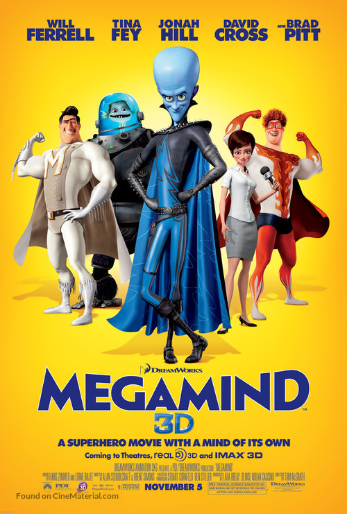 Megamind - Movie Poster
