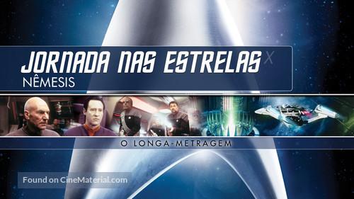 Star Trek: Nemesis - Brazilian Movie Cover