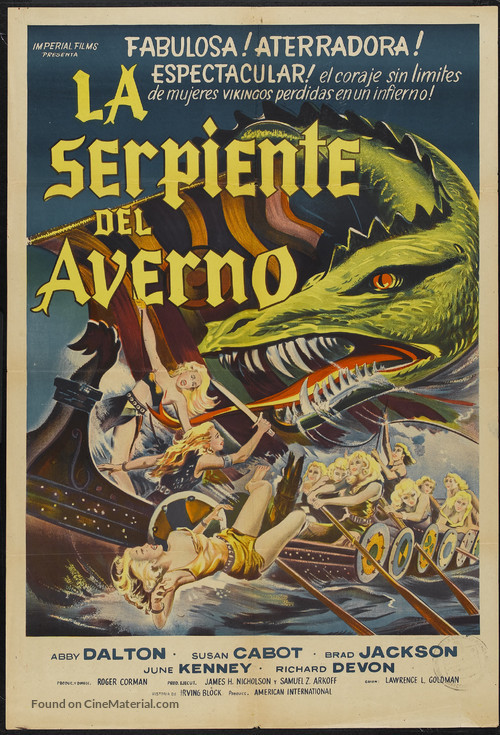 The Saga of the Viking Women and Their Voyage to the Waters of the Great Sea Serpent - Argentinian Movie Poster