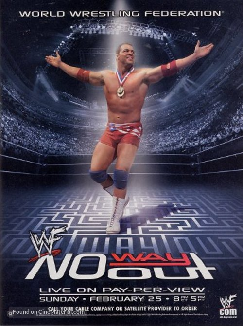 WWF No Way Out - Movie Poster