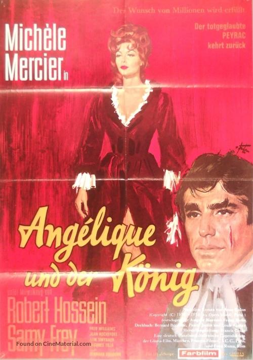 Angélique et le roy - German Movie Poster