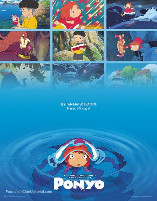 Gake no ue no Ponyo - Movie Poster