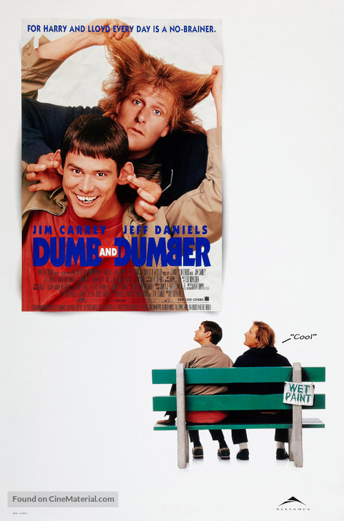 Dumb & Dumber - Canadian Movie Poster
